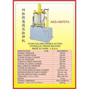 MESIN PRESS Four Column Double Action Press HM70TA