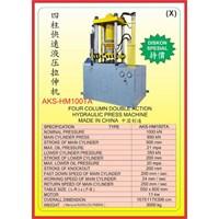 MESIN PRESS Four Column Double Action Press HM100TA 1