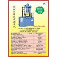 MESIN PRESS Four Column Double Action Press ZO70TA 1
