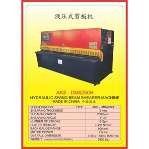 ALAT ALAT MESIN Hydraulic Shearer DM6250H