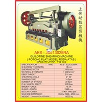 ALAT ALAT MESIN Hydraulic Shearer JDJ3025RA 1