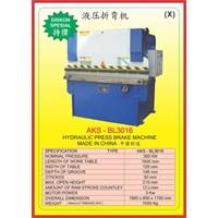 Mesin Press Press Brake BL3016 1