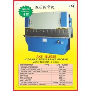 Mesin Press Press Brake BL6325