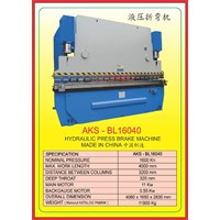 Mesin Press Press Brake BL16040 1