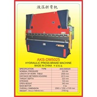 Mesin Press Press Brake DM5025 1