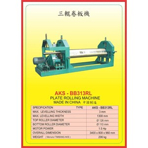ALAT ALAT MESIN Rolling Machine BB313RL