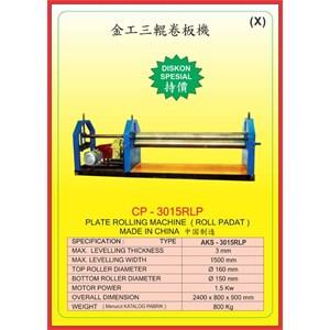 ALAT ALAT MESIN Rolling Machine CP3015RLP