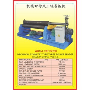 ALAT ALAT MESIN Rolling Machine LOS16320
