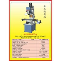 ALAT ALAT MESIN Drilling & Milling With Stand RM50GA 1