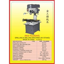 ALAT ALAT MESIN Drilling & Milling With Stand TOJ40WS