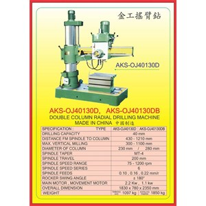ALAT ALAT MESIN Radial Drilling Machine OJ40130D