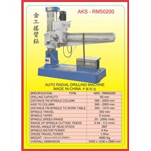 ALAT ALAT MESIN Radial Drilling Machine RM50200
