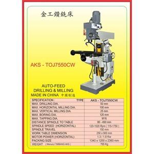 ALAT ALAT MESIN Universal Drilling & Milling TOJ7550CW