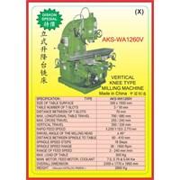 ALAT ALAT MESIN Universal Milling WA1260V 1