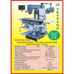 ALAT ALAT MESIN Universal Milling WA1360