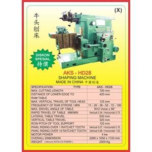 ALAT ALAT MESIN Shaping Machine HD28