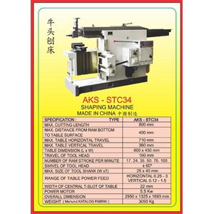 ALAT ALAT MESIN Shaping Machine STC34