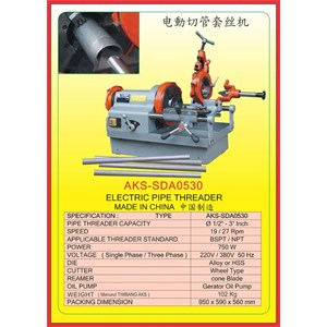 MESIN PEMOTONG Pipe Cutting & Threading Machine SDA0530