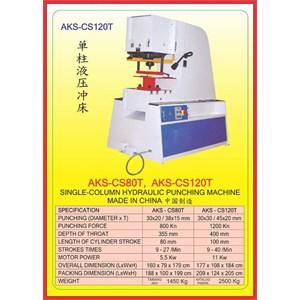 MESIN PRESS Shearing & Punching Machine CCS80T