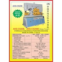 MESIN PRESS Shearing & Punching Machine CS208 1