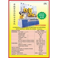 MESIN PRESS Shearing & Punching Machine CS309 1