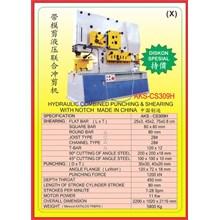 MESIN PRESS Shearing & Punching Machine CS309