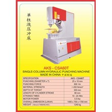 MESIN PRESS Shearing & Punching Machine CSA60T