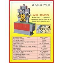 MESIN PRESS Shearing & Punching Machine CSA127