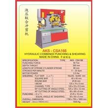 MESIN PRESS Shearing & Punching Machine CSA166