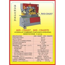 MESIN PRESS Shearing & Punching Machine CSA207