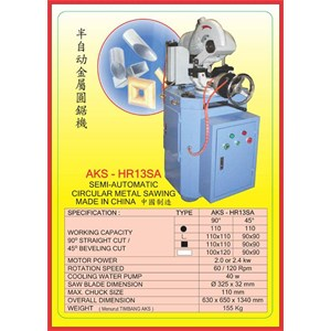 MESIN POTONG BESI Metal Cutting Machine HR13SA