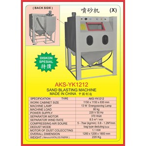 ALAT ALAT MESIN Sand Blasting Machine YK1212