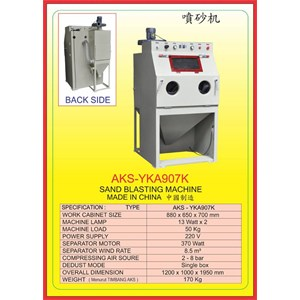 ALAT ALAT MESIN Sand Blasting Machine YKA907K