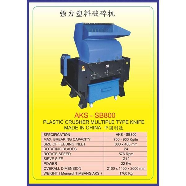 MESIN PENCACAH Plastic Crusher SB800