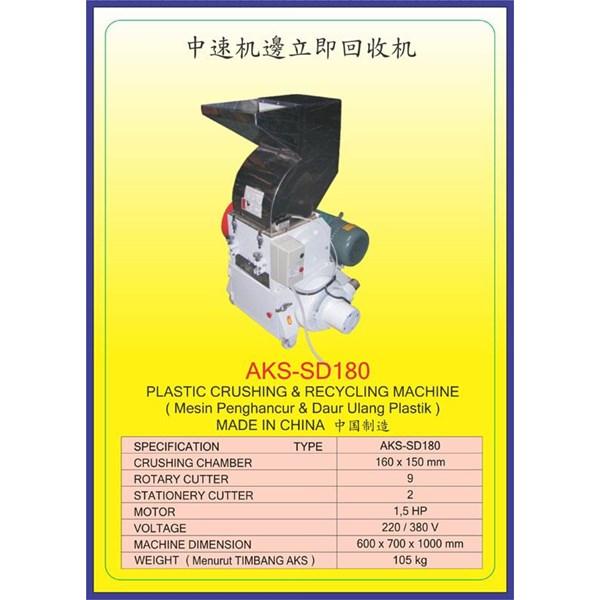 MESIN PENCACAH Plastic Crusher SD180