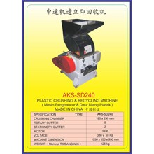 MESIN PENCACAH Plastic Crusher SD240