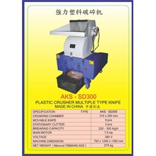 MESIN PENCACAH Plastic Crusher SD300