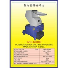 MESIN PENCACAH Plastic Crusher SD400