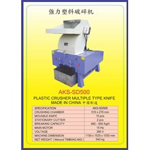MESIN PENCACAH Plastic Crusher SD500