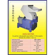 MESIN PENCACAH Plastic Crusher SD700