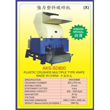 MESIN PENCACAH Plastic Crusher SD800