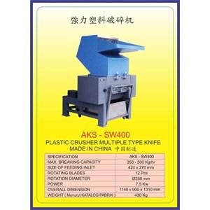 MESIN PENCACAH Plastic Crusher SW400
