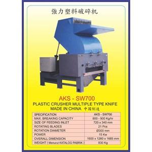 MESIN PENCACAH Plastic Crusher SW700