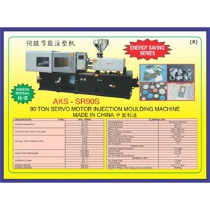 ALAT ALAT MESIN Injection Moulding SR90S