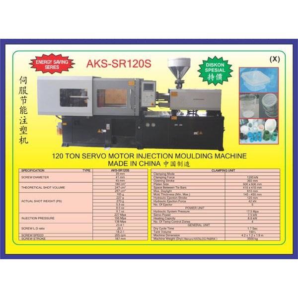 ALAT ALAT MESIN Injection Moulding SR120S
