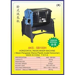 ALAT ALAT MESIN Horizontal Resin Mixer SB100H