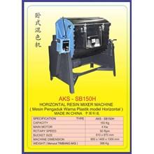 ALAT ALAT MESIN Horizontal Resin Mixer SB150H