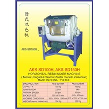 ALAT ALAT MESIN Horizontal Resin Mixer SD150H