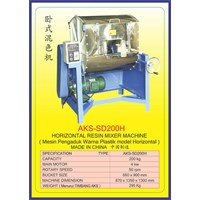 ALAT ALAT MESIN Horizontal Resin Mixer SD200H 1