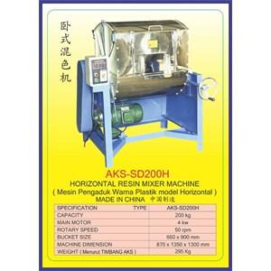 ALAT ALAT MESIN Horizontal Resin Mixer SD200H